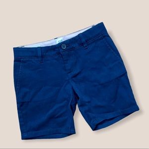 Gap navy blue girls shorts size 6